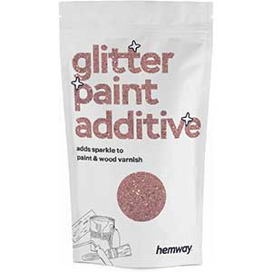 Glitter Paint Additive (Rose Gold) for Wall, Wood, Matte, Satin