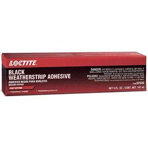 Loctite 495541 Black Weatherstrip Adhesive Tube