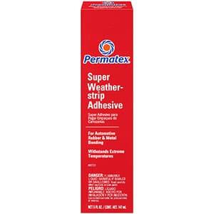 Permatex  Super Weatherstrip Adhesive, 5 oz