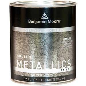 Studio Finishes, Molten Metallics Paint