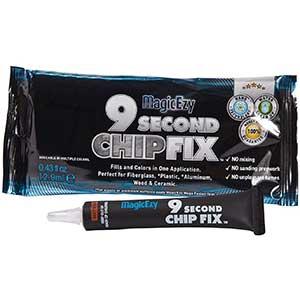 9 sec. Chip-Fixing Gelcoat Repair Kit - Oyster White