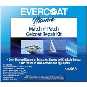 Evercoat Gelcoat Repair Kit- 4 fl. oz.