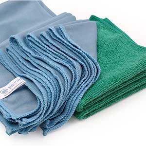 Microfiber Cloth to Clean Car Windows | Lint & Streak Free | 8pcs