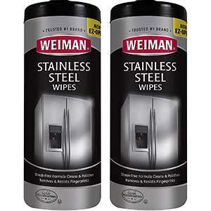 Weiman Cleaner for Stainless Steel Grill | Multi-Use| Pack of 2