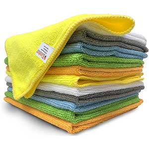 iCooker Cloth to Clean Car Windows   Versatile   Pack of 12