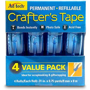 Adtech Glue for Making Cards | Crafter's Tape | 35 Yds