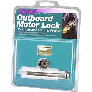 Mcgard Marine Outboard Motor Lock | Affordable | Full-Machined