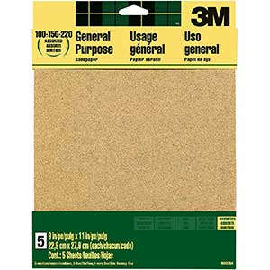 3M Sandpaper for Drywall | Aluminum Oxide Sandpaper
