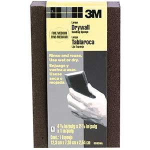3M Sandpaper for Drywall | Large Area Sanding Sponge