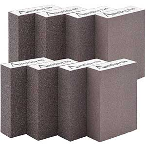 Aurellcy Sandpaper for Drywall | Sanding Sponge | Washable