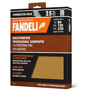 Fandeli Sandpaper for Drywall | Multipurpose Sandpaper Sheets