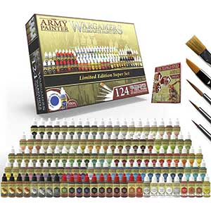 The Army Model Paints for Hand Brushing | 5 Brushes