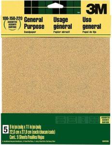 3M Sandpaper for Drywall Aluminum Oxide Sandpaper