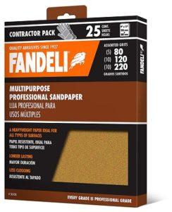 Fandeli Sandpaper for Drywall Multipurpose Sandpaper Sheets